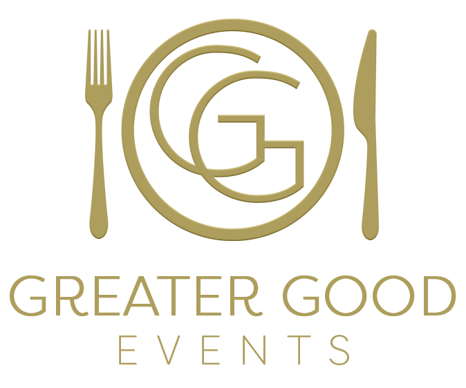Greater Good Events logo.